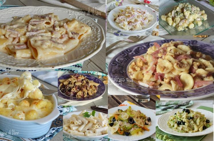 Primi piatti veloci di pasta pronti in 20 minuti con for Primi piatti di pasta