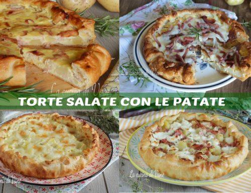 TORTE SALATE CON LE PATATE