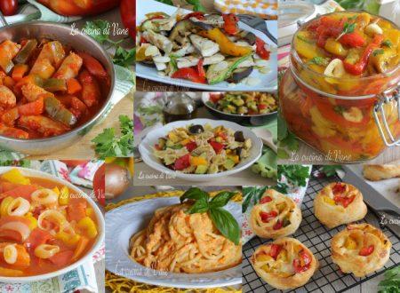 PIATTI CON I PEPERONI ricette facili e veloci