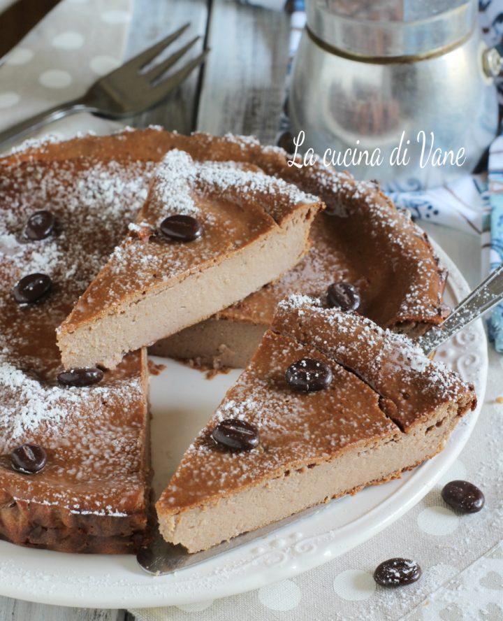 torta ricotta e caffè cremosa