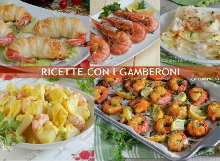 RICETTE CON I GAMBERONI