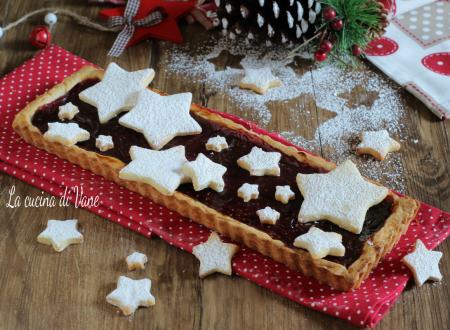 CROSTATA DI NATALE – dolce di Natale con marmellata e pasta frolla