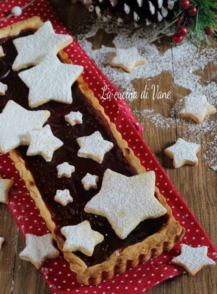 crostata di Natale - dolce di Natale