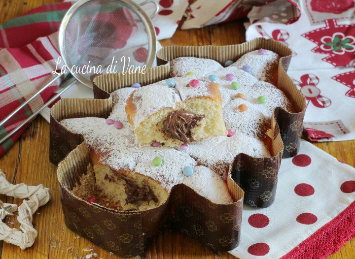 torta brioche albero di Natale