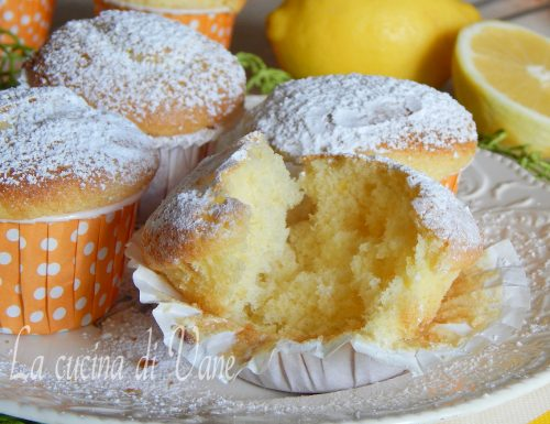 MUFFIN YOGURT E LIMONE sofficissimi