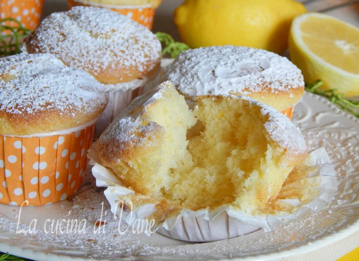 muffin yogurt e limone