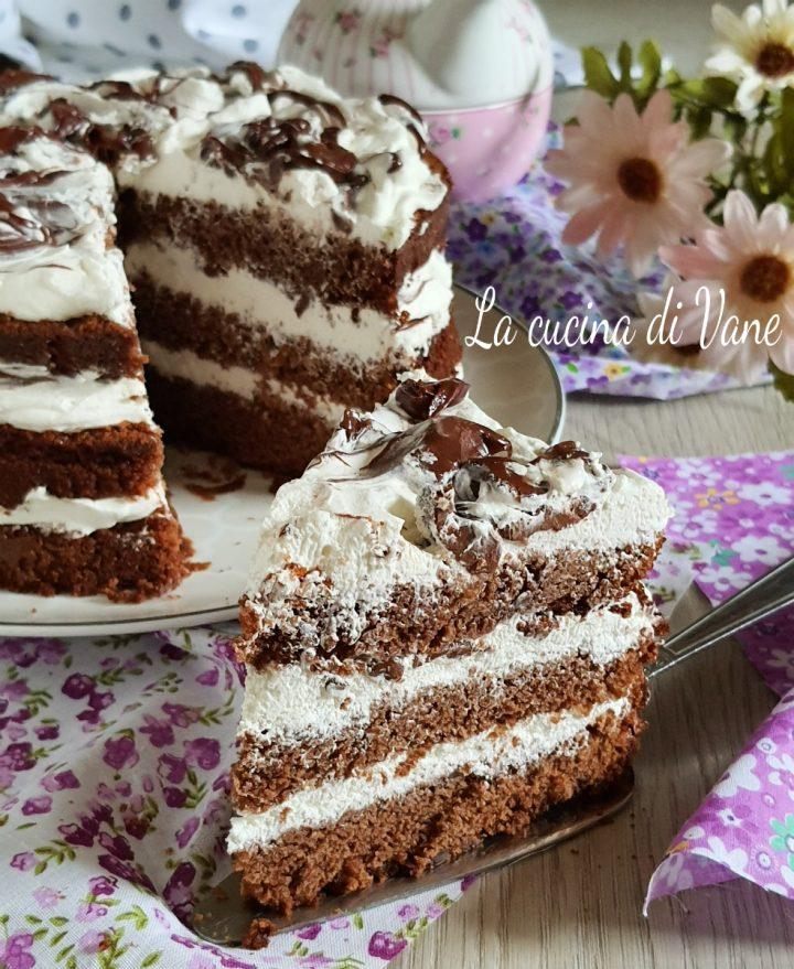 Ricetta Torta Nutella E Panna.Torta Panna E Nutella Ricetta Torta Al Cioccolato Farcita Facile E Veloce