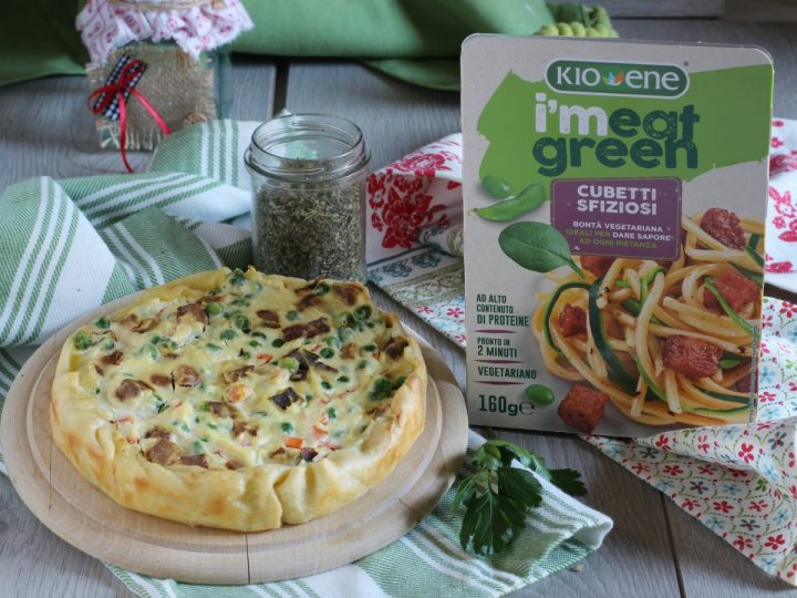 torta salata alla ricotta e verdure