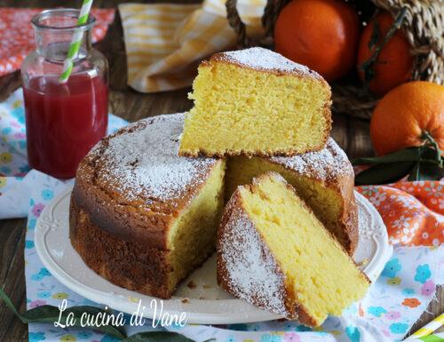 TORTA PAN D'ARANCIO CON BIMBY E SENZA