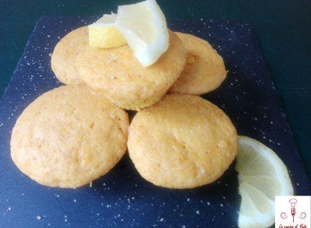 Muffins di zucca e aromatizzati al limone