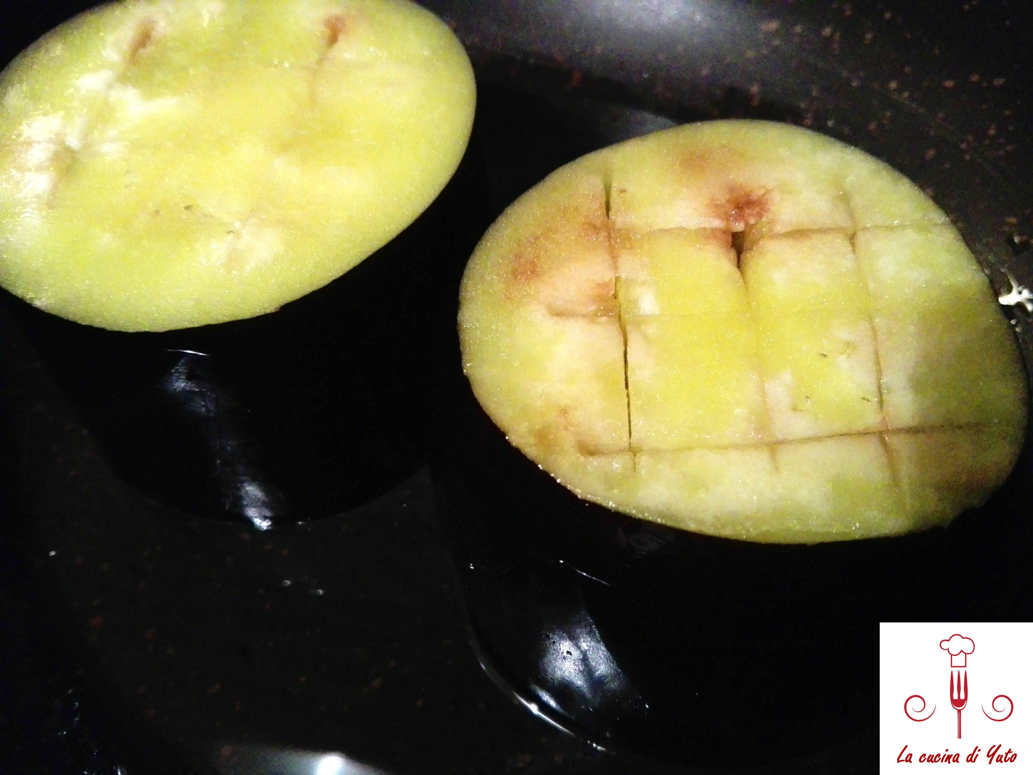 Cestini di melanzane ripieni