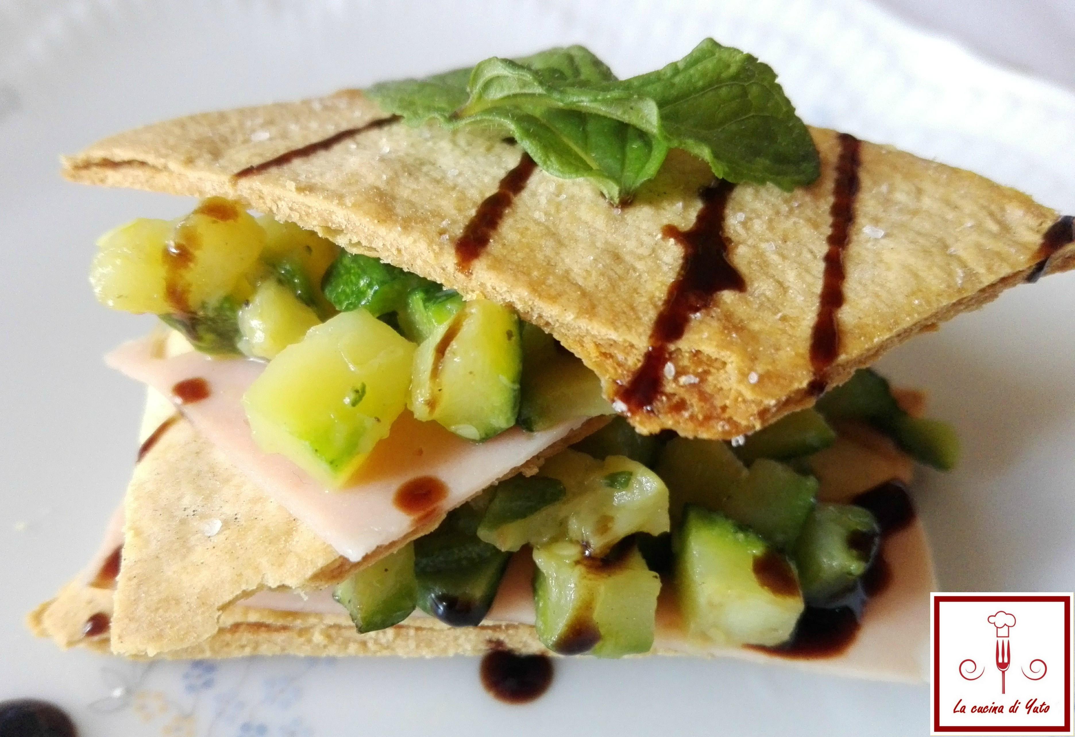 Millefoglie salata