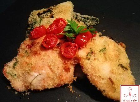 Sovracosce di pollo gratinate al forno