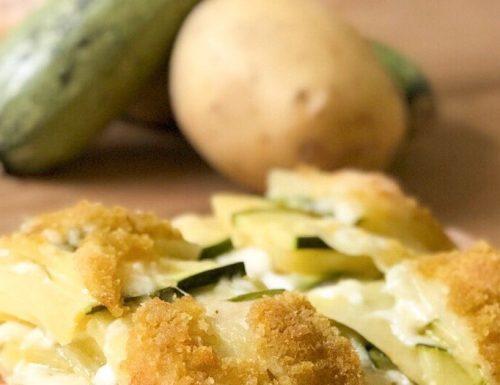 Sformatino di zucchine e patate