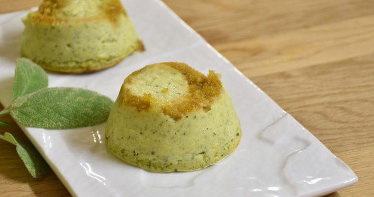 Mini tortine di zucchine e robiola