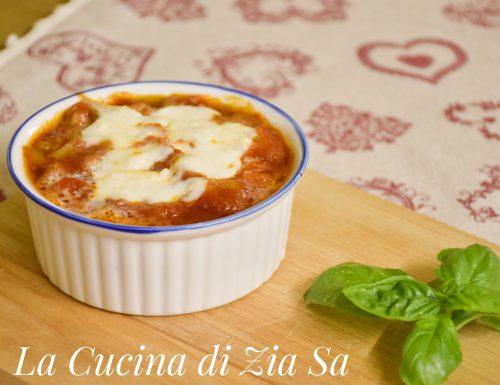 """Cocotte di """"Parmigiana"""""""
