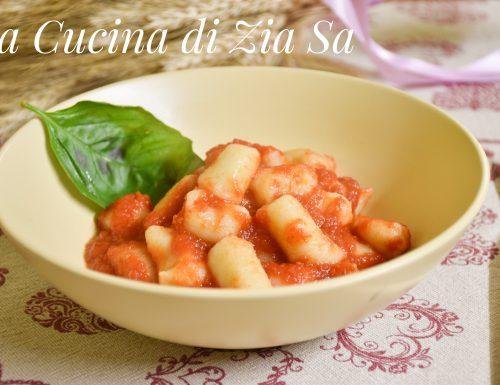 Gnocchi di patate al pomodoro bimby