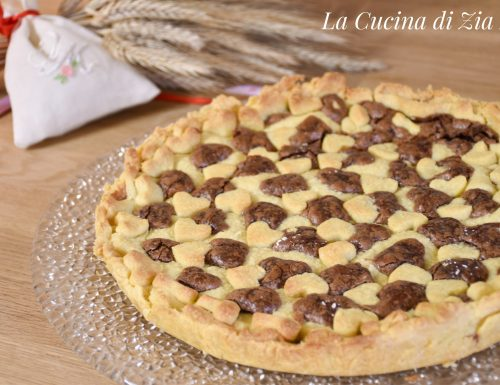 Crostata alla Nutella home made (con e senza bimby)