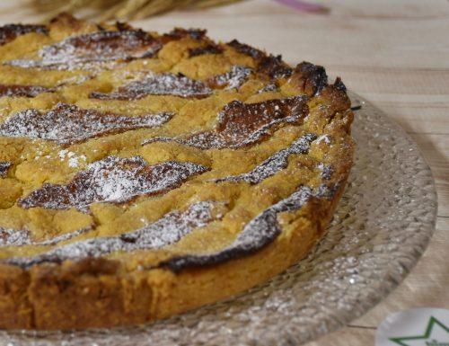 Crostata al mascarpone e confettura