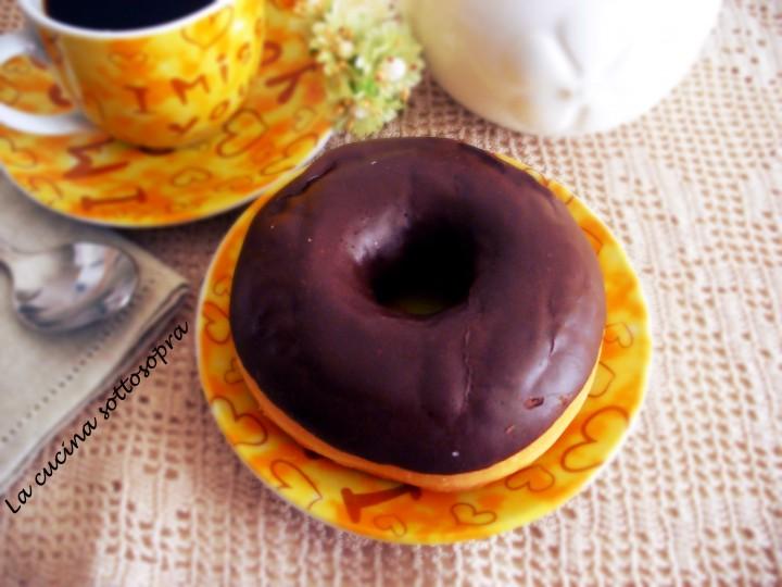 donuts al cioccolato con e senza Bimby