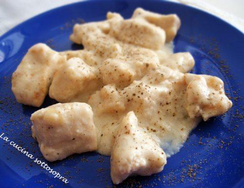 Petto di pollo in crema di latte