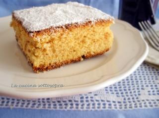 torta al succo d'arancia senza glutine, latte e burro