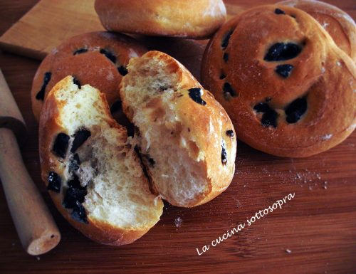 Panini soffici alle olive