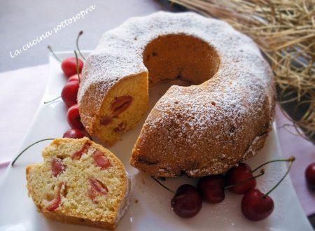 Ciambella 5 minuti alle ciliegie