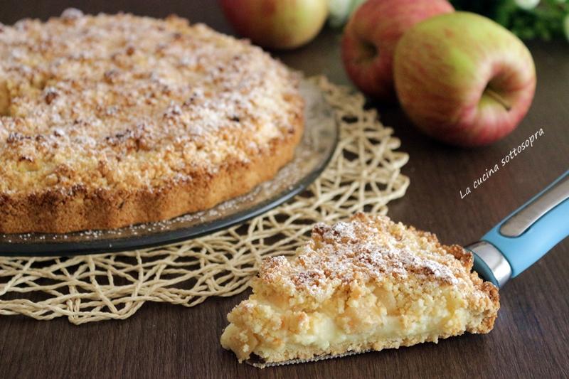 Conosciuto Sbriciolata con crema e mele - La cucina sottosopra HM08