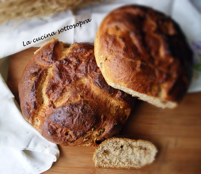 pane crusca e noci delle sorelle Simili