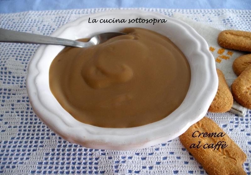 Crema al caffè espresso con e senza Bimby