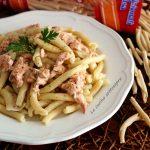 Pasta salmone e stracchino
