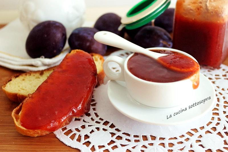 marmellata di prugne veloce senza bucce