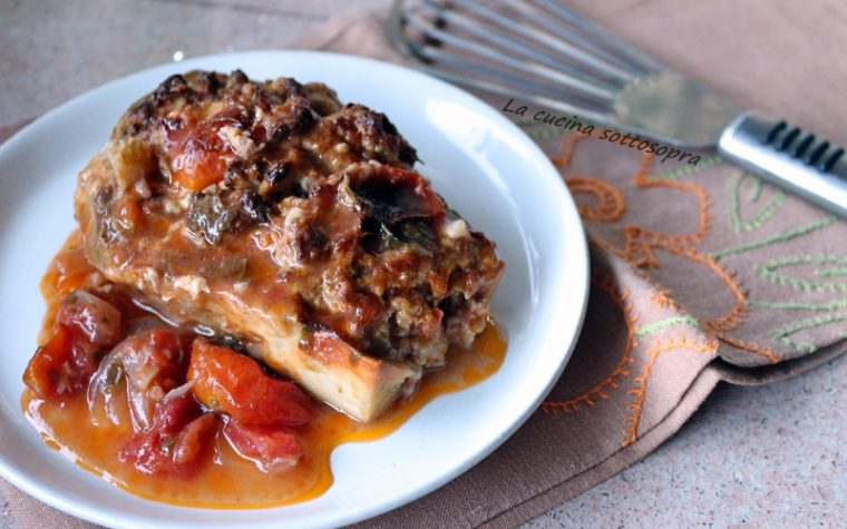 Melanzane ripiene al forno – ricetta pugliese