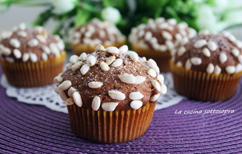 muffin nutella e yogurt