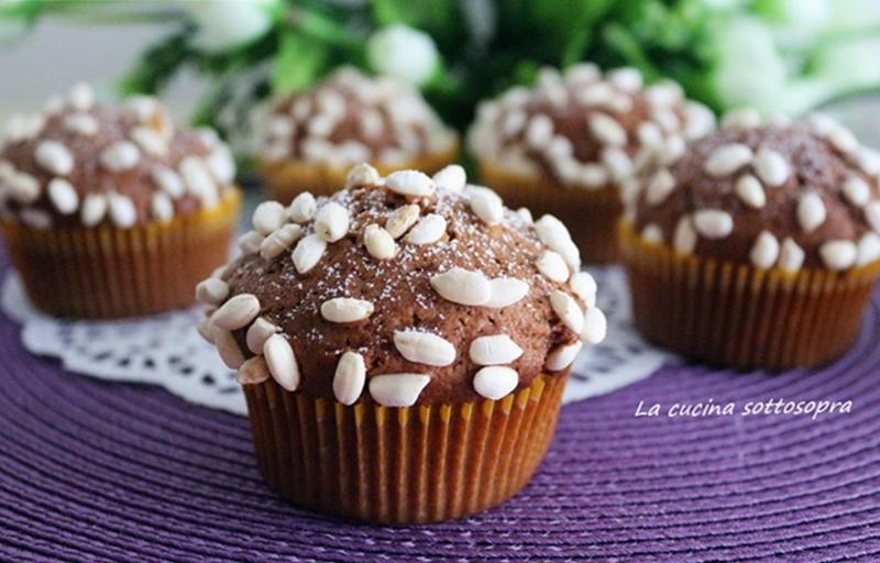 Muffin Nutella e yogurt - ricetta facile