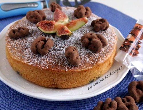 Torta di fichi e noci tartufate – soffice e senza burro