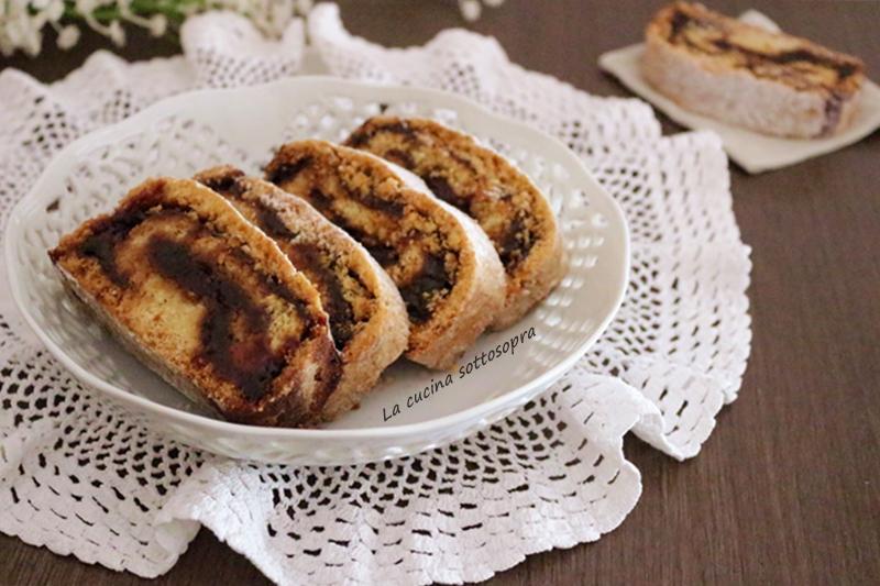 Biscotti rustici alla marmellata - senza burro