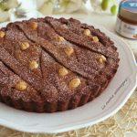Crostata al cacao e nocciole - ricetta facile