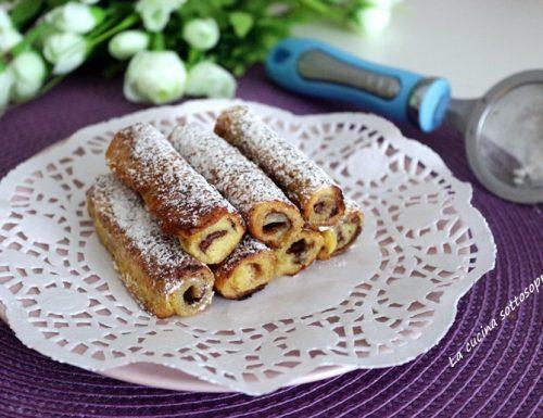 Nutella French Toast Rolls – rotolini golosi alla Nutella
