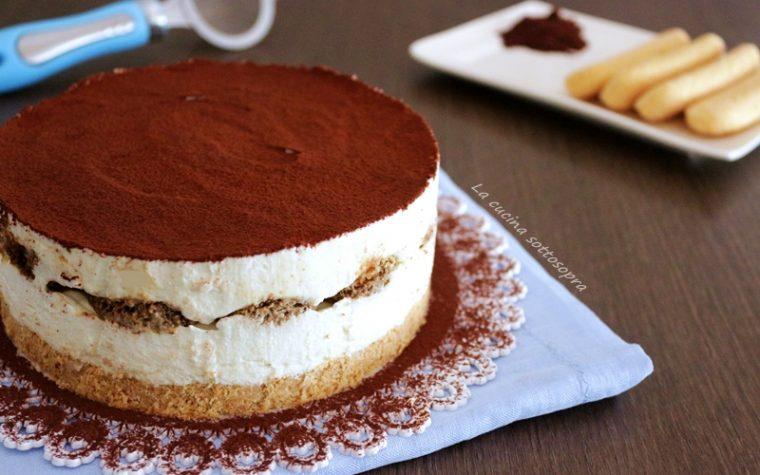 Cheesecake tiramisù alla ricotta