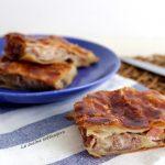 Pizza rustica carne e mozzarella con metodo velocissimo
