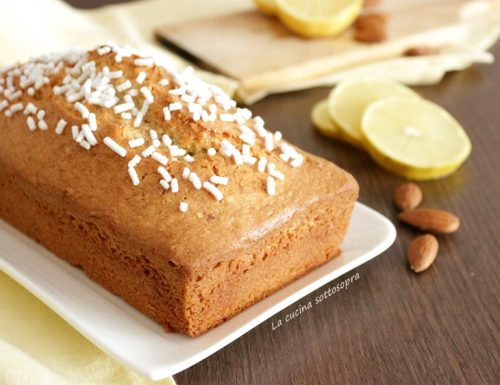 Plumcake limone e mandorle – ricetta semplice