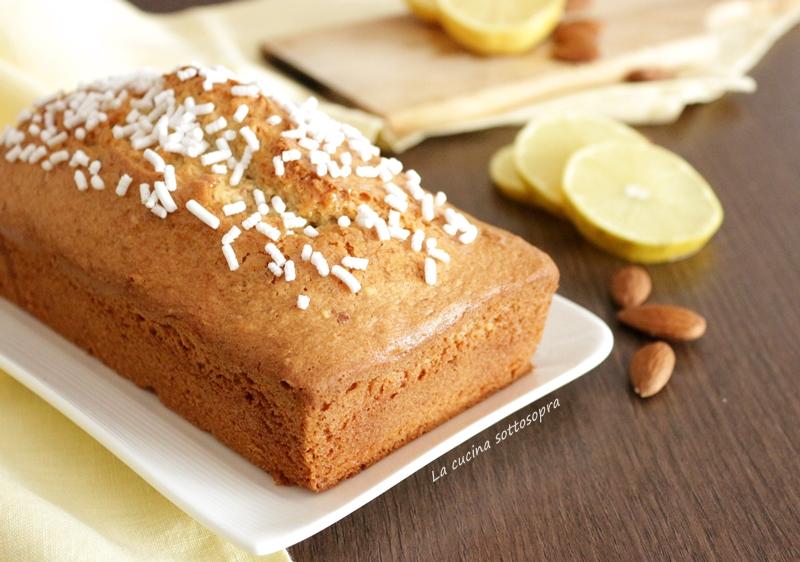 Plumcake limone e mandorle - ricetta semplice
