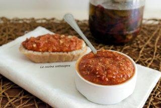 Pesto di pomodori secchi con Bimby