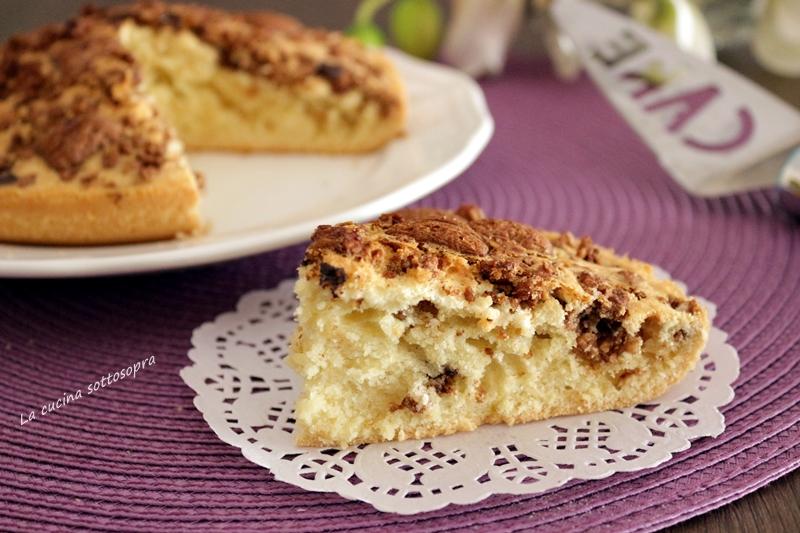 torta muesli e cioccolato fondente senza burro