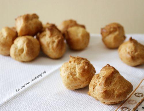 Pasta choux per bignè – con Bimby e senza