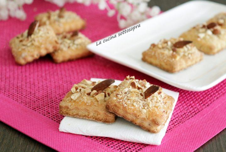 biscotti alla vaniglia con ricotta e mandorle