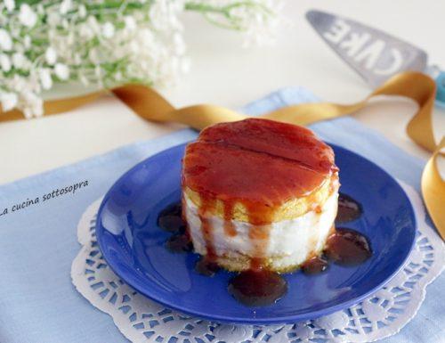 Merenda yogurt e marmellata senza cottura