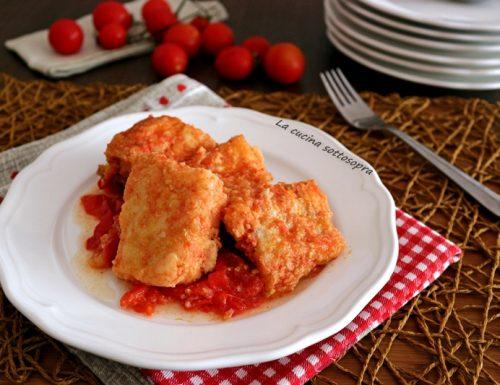 Baccalà fritto al pomodoro – ricetta pugliese